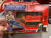 Vintage 1980and039s He-man Masters Of The Universe Motu View-master 3d Mib W/ 3 Reels