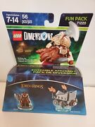 Lego Dimensions Lord Of The Rings Fun Pack 71220 Gimli And Axe Chariot