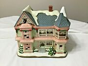 Christmas Colonial Village By Lefton-limited Edition And Numbered 4705/5500
