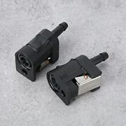 Marine Boat Engine Fuel Line Connector Fitting 6mm Fit For Outboard Sh