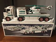 2006 Hess Toy Truck And Helicopter - Working With Original Box