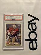 Joe Montana Psa Topps Autograph Collector Card 72 Dna Authentic High End Invest