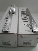 New - Oneida Atlas Stainless Flatware 12 Forks And 12 Knives - New In Box