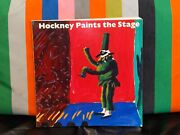 David Hockney - Hockney Paints The Stage - Pb - Signed With Doodle - Unique Rare