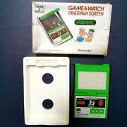 Nintendo Game And Watch Popeye Panorama Screen Portable Retro Console Vintage Rare