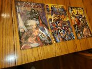 66 Medieval Spawn And Witch Blade 1-3 Very Rare 1996 All Bagged And Card Into One