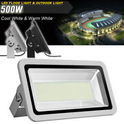 500w Led Flood Light Cool/warm White Landscape Security Outdoor Lamp Lighting
