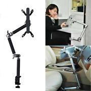 Tablet Phone Holder Foldable Multifunctional Clamp Car Stand Aluminum Wall Mount