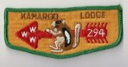 Kamargo Lodge 294 S-2 General Herkimer Council New York Good Condition