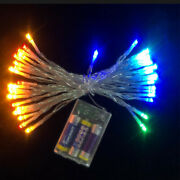 Battery Operated Led Fairy String Lights Lamp Christmas Party Wedding Xmas Decor