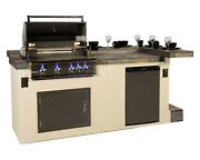 Outdoor Grill And Bar Unit - Paradise Fiji 8and039 Custom Unit - New