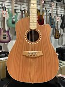 Cole Clark Fat Lady 2 Redwood/blackwood Dreadnought Ae   Ohsc + Free Shipping