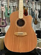 Cole Clark Fat Lady 2 Redwood/blackwood Dreadnought Ae | Ohsc + Free Shipping