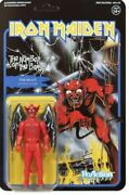 The Beast Iron Maiden The Number Of The Beast Super 7 Reaction Action Figure New