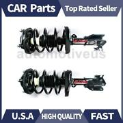 Front Shocks Strut Coil Spring Assembly 2 X Focus Auto Parts For Mazda 2000-2003