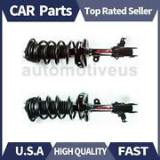 Front Strut Shocks Coil Spring Assembly 2 X Focus Auto Parts For Honda 2008-2010