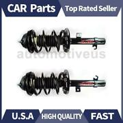 Front Strut Shocks Coil Spring Assembly 2 X Focus Auto Parts For Ford 2006-2007