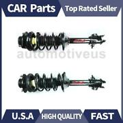 Rear Shocks Strut Coil Spring Assembly 2 X Focus Auto Parts For Nissan 2000-2001