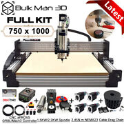 7510 Work-bee Cnc Router Machine 4 Axis Wood Cnc Engraving Milling Machine Kit