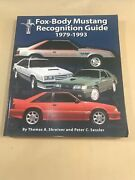 1979 - 1993 Fox-body Mustang Recognition Guide Book Collectors Item