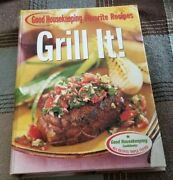 2005 Good Housekeeping Favorite Recipes Grill It Barbeque Wood Charcoal Cookbook