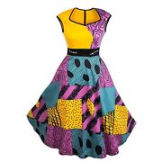 New Disney Parks Dress Shop Nightmare Before Christmas Sally Womenand039s Dress S-3x