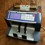 Accubanker Ab6000 Business Counterfeit Detector Uv Pro Bill Counter