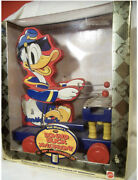 Fisher Price 185 Donald Duck Playing Xylophone Pull Toy Vintage