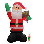 5m Airpower Giant Santa With Lights. Brand New.