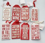 Primitives By Kathy, Christmas Wine Bottle Gift Tag, Funny Sayings, Ornaments