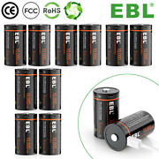 Lot Usb Rechargeable D Batteries 10000mwh 1.5v Long Lasting D Cell Li-ion Batery
