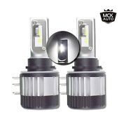 Mck Auto Andndash H15 Csp Chips Led Canbus Bulbs Headlight Xenon White 6000k Very Br...