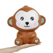 Anboor 10.2 Inches Squishies Jumbo Monkey Kawaii Slow Rising Scented Giant An...