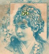 1880s Victorian Trade Cards Of Lovely Actresses Lot Of 12 P195