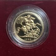 1983 United Kingdom Gold Sovereign Proof Coin