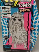 Lol Surprise O.m.g. Lights Groovy Babe Fashion Doll With 15 Surprises New