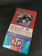 Maxx 1991 Complete Set Racing Cards Vtg 1991 Traks Richard Petty Cards Unopened