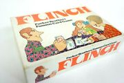 Flinch Parker Brothers Card Game 1963 Complete Family Night Fun Home Decor Vtg