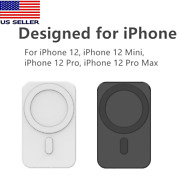 Car Mount Wireless Charge With 1mag Safe For Iphone 12/12 Pro/12 Mini/12 Pro Max
