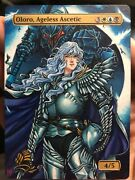 Oloro Ageless Ascetic - Berserk/griffith Hand Pained Alter - Sablan Mtg Alters