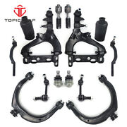 New 14pc For Chevy Trailblazer And Gmc Envoy Front Control Arms Suspension Kit