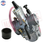 34mm Pwk Power Jet Carburetor For Scooter Atv Motorcycle And Dirt Bike And Fitting