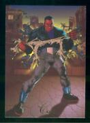1994 Flair Marvel Annual Trading Card 89 Cage Nm-mt High End Set Break