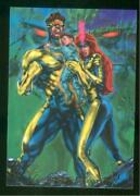 1994 Flair Marvel Annual Trading Card 82 Child Of The Future Nm-mt High End Set