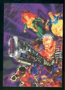 1994 Flair Marvel Annual Trading Card 112 Cable Returns Nm-mt High End Break
