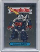 2020 Topps Chrome Garbage Pail Kids Series 3 Android Boyd 87c Variation Sp
