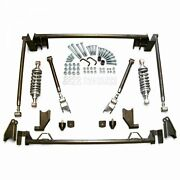 1966-67 Ford Fairlane Comet Bolt-on 4-link Suspension W/ 300lb Rear Coilover Kit