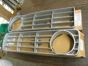Nos Oem Ford 1973 1974 1975 Truck Pickup Grille Pair Halves F100 F250 F350