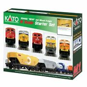Kato 1060022 - Ess44ac Starter Set Canadian Pacific Cp - N Scale