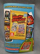 Rare Print Ad For Topps Wacky Packages Series 2 Stickers
